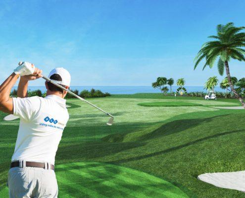 Sân golf dự án FLC Hạ Long điểm đến của khách hàng hạng sang