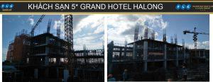 Tiến độ Grand Hotel tháng 9
