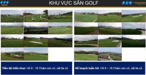 Tiến độ sân Golf FLC