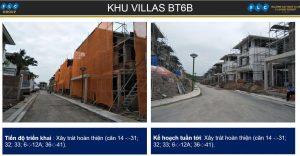 Khu villas BT6B ngày 06/11