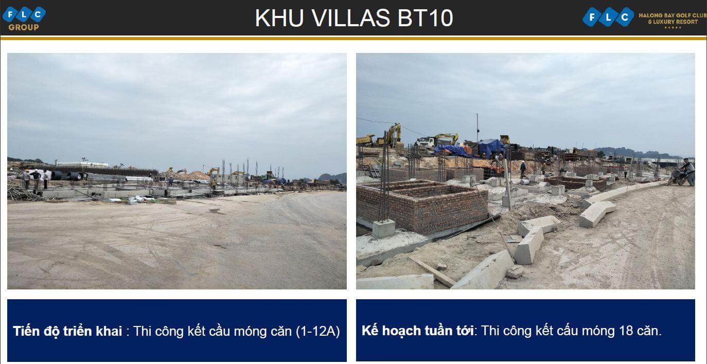 Khu Villas BT10 ngày 06/11