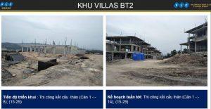Khu villas BT2 ngày 06/11