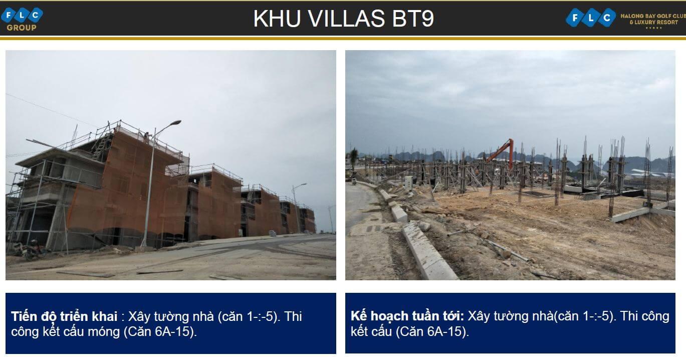 Khu villas BT9 ngày 06/11