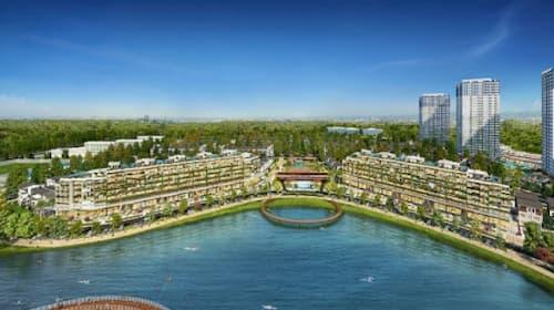 Marina ARC là chuỗi nhà phố đẳng cấp nhất của dự án